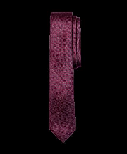Sötétbordó aprómintás nyakkendő