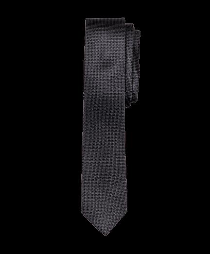 Fekete aprómintás nyakkendő