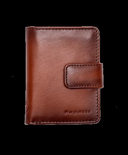 Konyak férfi bőr pénztárca RFID védelemmel