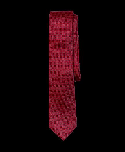 Bordó aprómintás nyakkendő