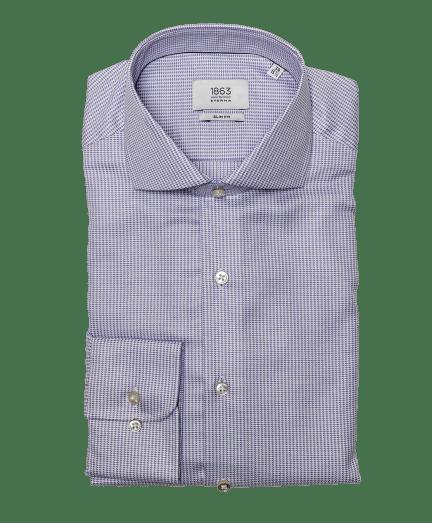 Halvány lila apró mintás férfi ing