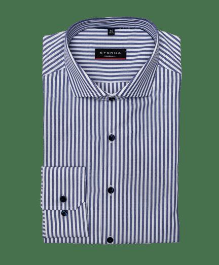 Kék-fehér csíkos férfi ing